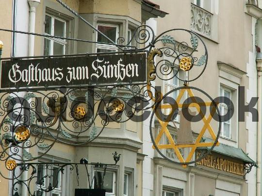 Product picture Iron Sign - Medival Sign - Inn - Pub