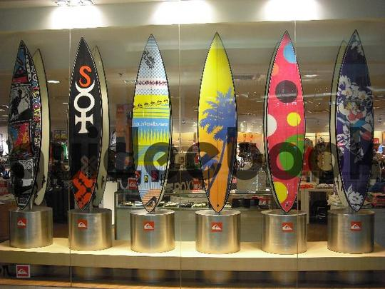 Product picture Surfboards In A Row